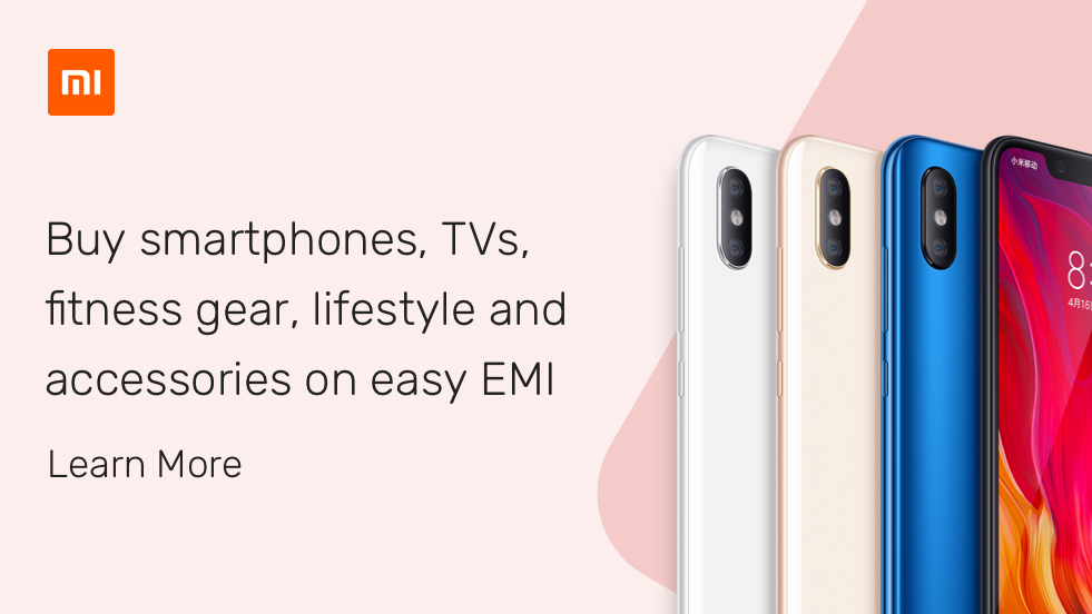 Xiaomi smartphones on EMI