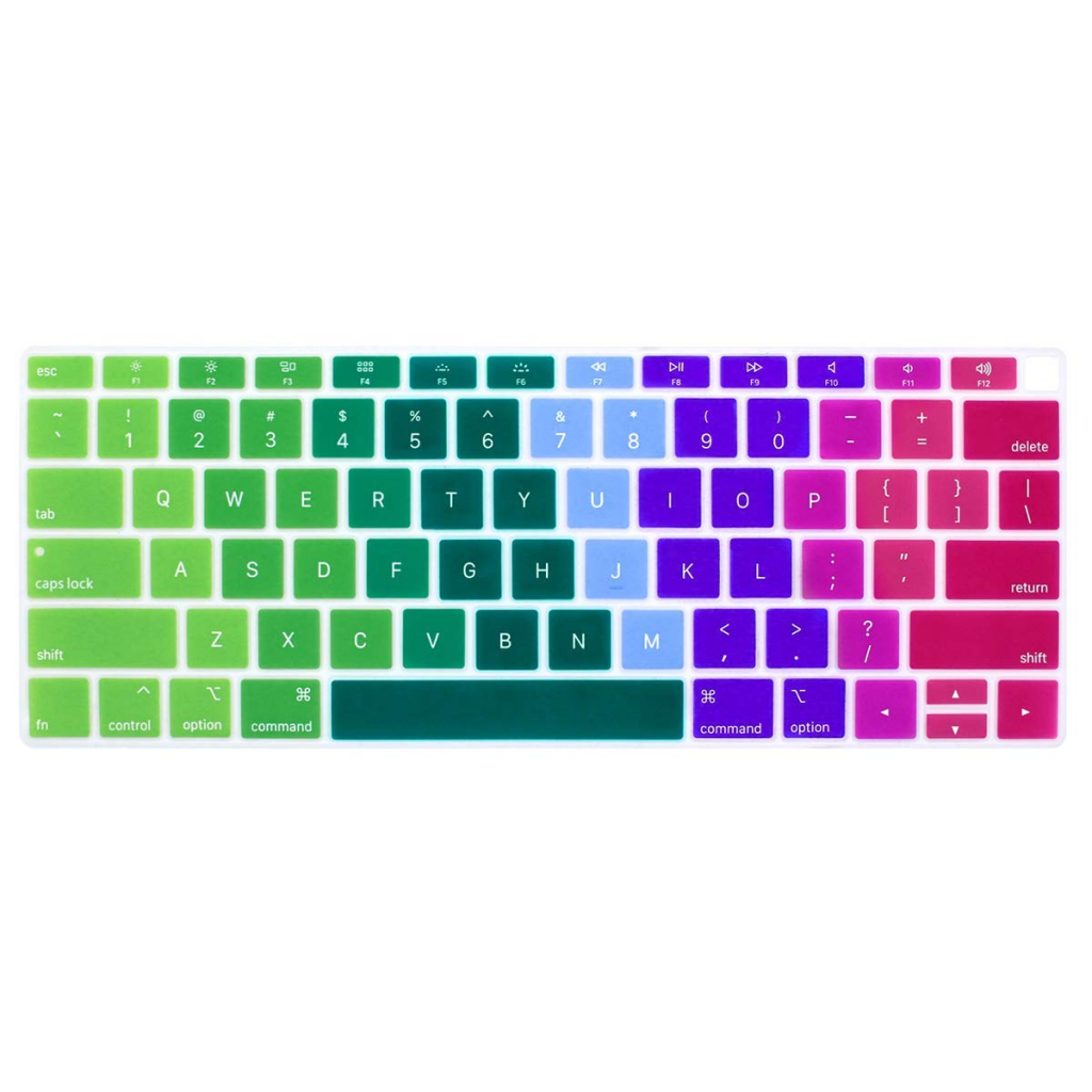 Colourful keyboard skin from Amazon_best laptop accessories